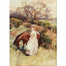 SIR ALFRED MUNNINGS, (BRITISH 1878-1959),