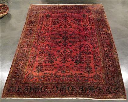 Sarouk carpet, west persia, circa 1920,