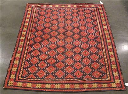 Alpujarra carpet, spain, circa early 20th century,