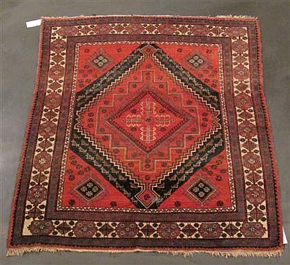 Afshar rug, south central persia, circa 1900,