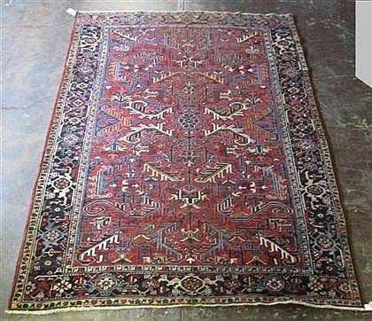 Heriz carpet, northwest persia, circa 1940,