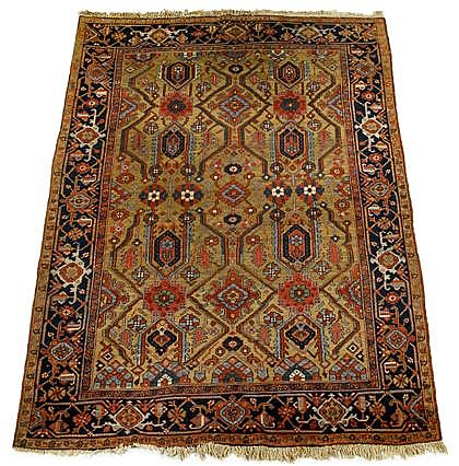 Heriz carpet, northwest persia, circa 1920,