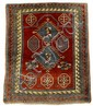 Borchalou Kazak prayer rug, southwest caucasus, circa late 19th century,