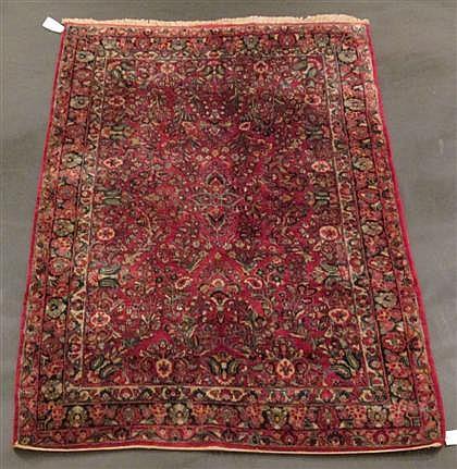 Sarouk carpet, west persia, circa 1930,