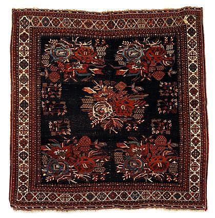 Afshar rug, southwest persia, circa late 19th century,