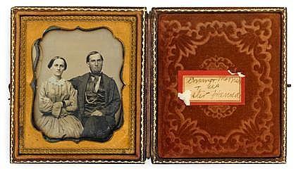 JESSE HARRISON WHITEHURST, (AMERICAN 1820-1875), EMMOT MORRISON & HIS ESTER(sic) HANNA