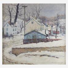 Elizabeth Fisher Washington (American, 1871–1953), , Village in the Snow