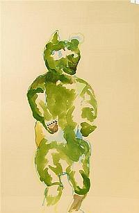 ANNE CHU, (AMERICAN 1959), STANDING BEAR