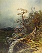 CHARLES H. CHAPIN, (AMERICAN 1830-1889), MOUNTAIN LANDSCAPE, Charles H Chapin, Click for value