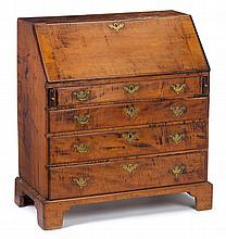 Chippendale slant-front desk, late 18th century,