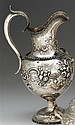 Silver pitcher, peter l. krider, philadelphia, pa, dated