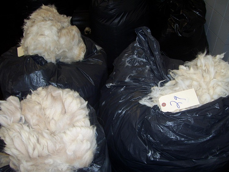 3 bags white grade 3 bulk