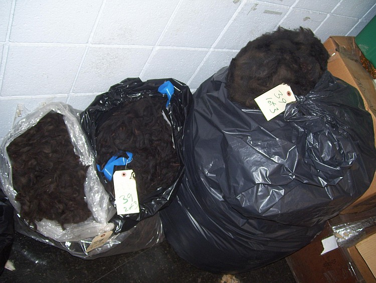 3 bags true black bulk
