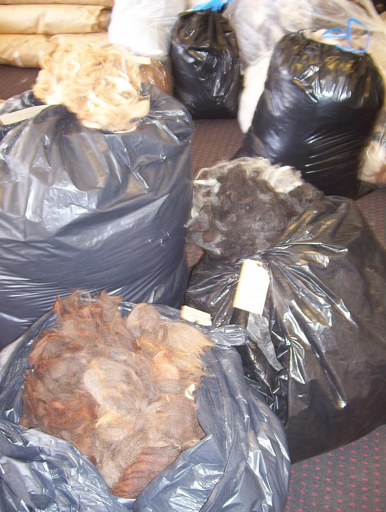 3 bags Washed mixed grade 5/6 rug