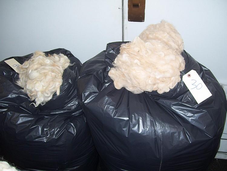 2 bags beige grade 3 bulk