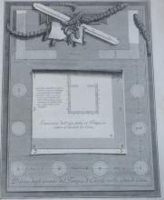 1764 Giovambat Piranesi Ancient Temple of Hercules Cora