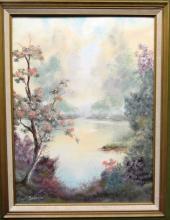 Oil on Canvas Board by Bodanza