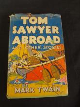 Tom Sawyer Abroad and Other Stories Mark Twain with Dust Jacket 1924