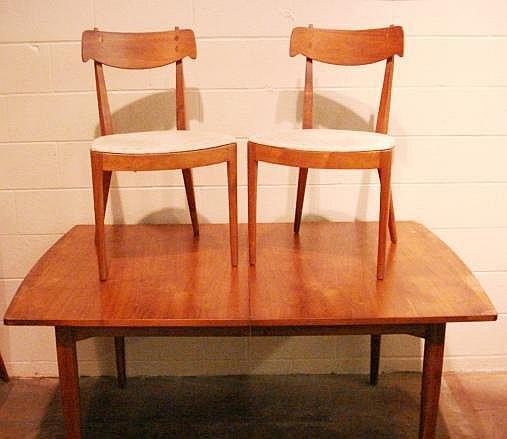 1950's Drexel Declaration Walnut Dining Room Set