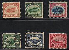 United States Scott C1-C6 Airmail Set