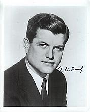 (3)Autographed Politician 8x10's w/Ted Kennedy