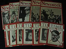 Rare War Time Press Pacific Front Magazines Hitler