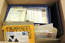 U.S. & Worldwide Stamp & First Day Cover Lot