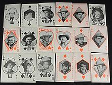1960's Era Hollywood Stars Exhibit Cards