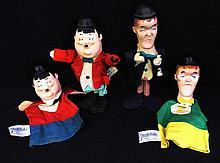 Vintage 1960's Knickerbocker Laurel & Hardy Toys