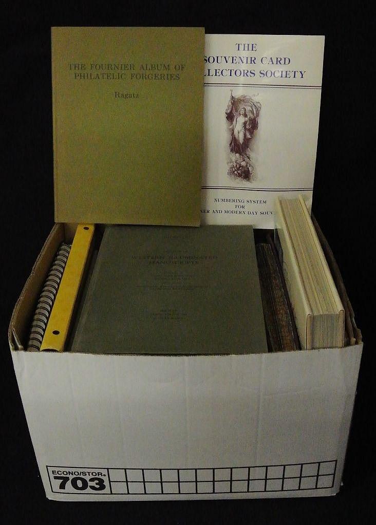 Large Lot of Philatelic Literature