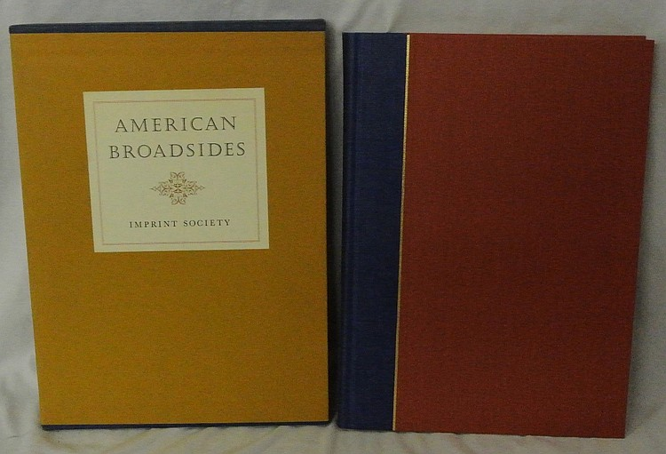 American Broadsides by Georgia Bumgardner 1950 Copies