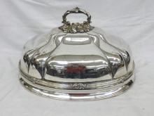 Early James Dixon Silverplate Meat Dome Cover