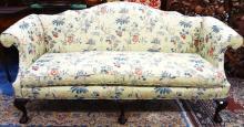 Kittinger Camelback Mahogany Sofa