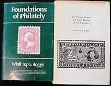 Pair of Winthrop Boggs Philatelic Books