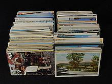 1100-1300 Mixed States Towns Views Postcard Lot