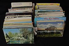 1000-1200 Mixed States Towns Views Postcard Lot