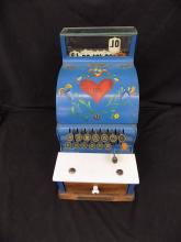 The National Cash Register Co Art Deco Painted dated 1896