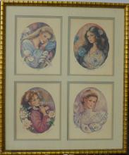 Mary Vickers Signed Serigraphs A/P Blossoms of Love