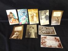 (9) Real Photo Postcards: Couples and Love Letters, France, GL Co., Rapid Photo