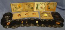 The Bubble Book Children's Record Books that Sing, Little Wonder Records 1917