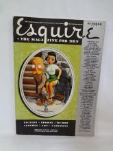 1940 Esquire Magazine Complete includes Alberto Vargas Pin up illustrations