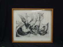 Monoprint Bryon Stamets