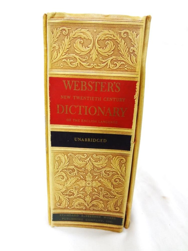 Webster's 20th-Century Dictionary of the English Language, Illustrations, 1935