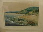 Signed Hans Volck Watercolor Sagenuay River, Hans H. Volck, Click for value