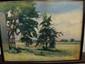 Hans Volck Farm Scape Signed Watercolor, Hans H. Volck, Click for value