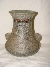 Signed Hand Made Modern Art Glass Vase