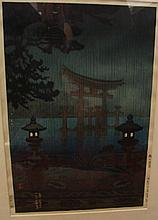 KOITSU, Tsuchiya, (Japanese, 1870-1949) Woodblock