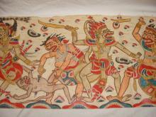 Large Siam Tapestry Battle Scene