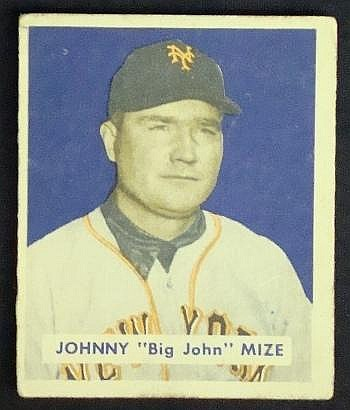1949 Bowman #85 Johnny