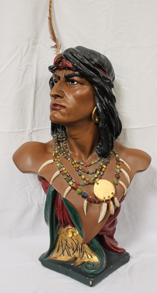 Monumental Cigar Store Indian 28